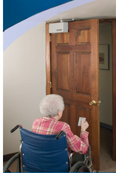 Residential Automatic Door Opener Model 2300 Residential Handicap Door Opener Power Access Corporation