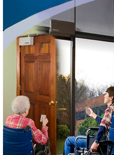 Door Opener Installations & Electric Door Lock (strike) for Automatic Door Opener - Power Access ...